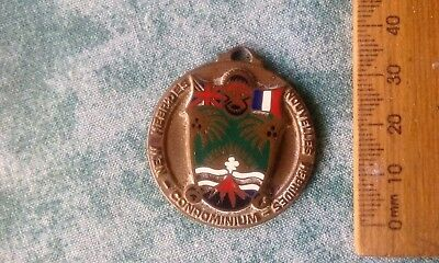 weird unknown strange different medal trophy badge club metal a