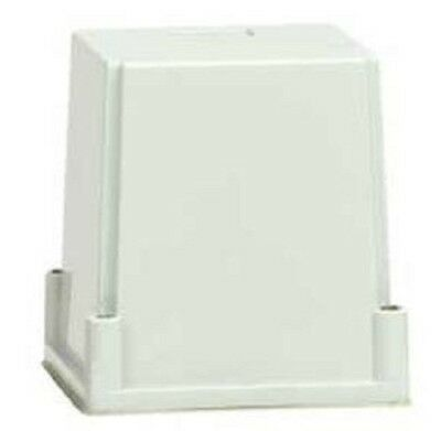 Clipsal 56-SERIES ENCLOSURE COVER ONLY 100x95mm 1-Gang, Grey *Australian Brand