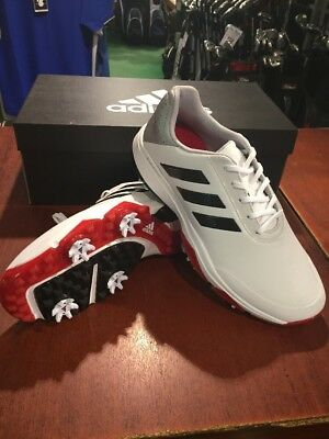 1a9fdc7c7 Adidas Adipower Bounce Wide Fitting Golf Shoes. White Black Silver.Size 10.5
