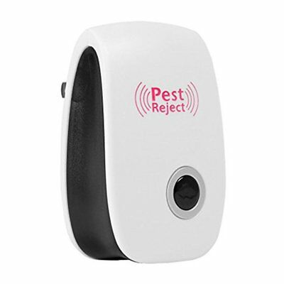 Electric Ultrasonic Mouse Repeller Insect Cockroach Trap Pest Control Device F7