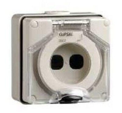 Clipsal INDUSTRIAL MOUNTING ENCLOSURE 107x101x77mm Two 30 Mech, Grey *Aust Brand