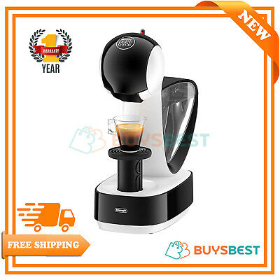 DeLonghi Dolce Gusto POD Capsule 1.2 liters Coffee Machine 1470 W  White/Black