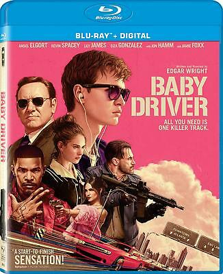 Baby Driver Digital HD with Ultraviolet + Ansel Elgort [2017] [Blu-ray]