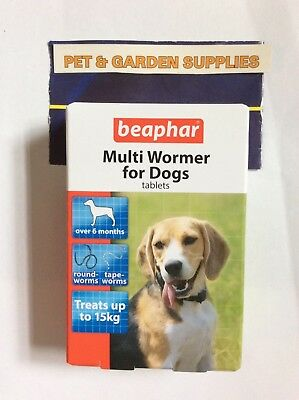 beaphar Multi Wormer for dogs (kills roundworms & tapeworms)