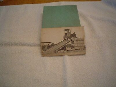 Case Farm Tractor Hill Climb Exhibition Vintage Postcard Early 1900's
