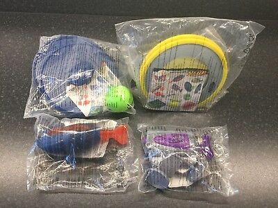 McDonalds Happy Meal NERF beach toys 2016 x 4 new still in original package