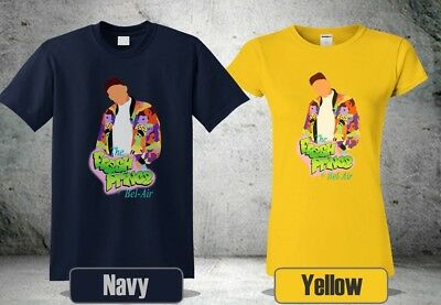hot sale online 5b162 be55a New The Fresh Prince T-Shirt Air Bel Of Tv Show Short Sleeve Size S