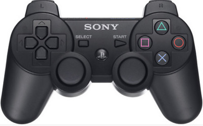Mando Sony  Playstation 3 Dualshock Sixaxis Ps3 Color Negro