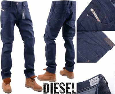 a4d96b58 DIESEL BELTHER 0088Z W38 L32 Mens Denim Jeans Regular Slim Tapered Fit