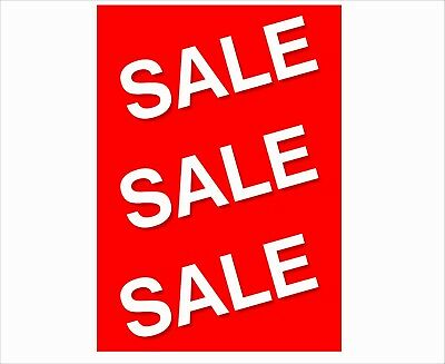 Sale Now On Posters - Window Sign - Choose Size - Free Uk P&P 006