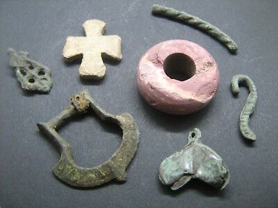 Ancient Medieval Objects of the 9-12th Century