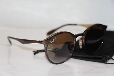 1f61853cfd9 Ray Ban Emma RB4277 710 T5 Tortoise Brown Gradient Polarized Sunglasses  51-21