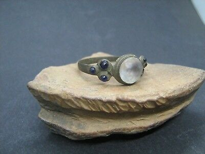 Ancient Medieval Ring with Stones