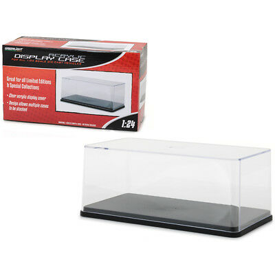 New Acrylic Display Show Case with Plastic Base for 1/24 Scale Models by Greenli