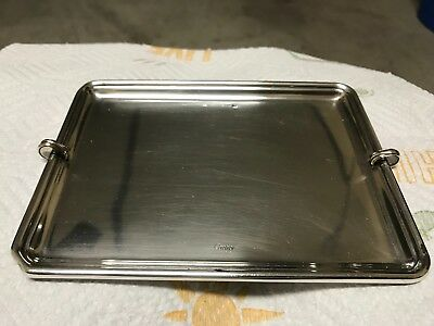 Vintage Cartier Sterling Silver Card Tray .925