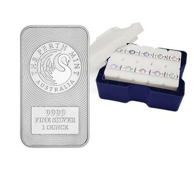 200oz MONSTER BOX Australian Kangaroo 1oz .9999 Silver Minted Bullion Bar – PM