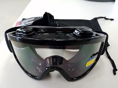 FULMER IGNITE ADULT GOGGLES - BLACK - MX -ATV-UTV-Motocross-Motorcycle-Dirt Bike