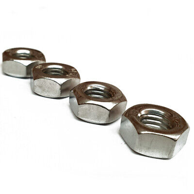 """Imperial Unc Full Nut A4 Stainless Steel 4-40 6-32 8-32 10-24 1/4"""" 5/16"""" 3/8"""" 2"""""""