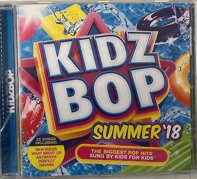 Kidz Bop Kids U.K. - Kidz Bop Summer 2018 (CD) New Sealed Free UKP&P