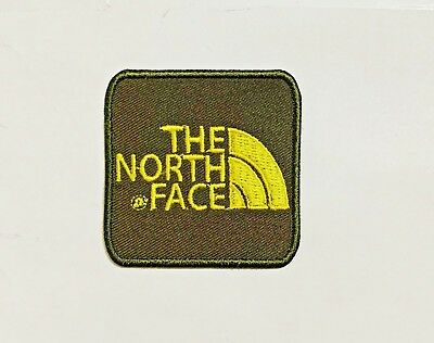 The North Face Embroidered Iron on Sew on Patch Badge Clothes Jacket Jeans New