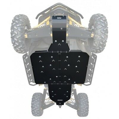 YAMAHA 350 RAPTOR AJ  CHASSIS SKID PLATE Y042022NF Western Powersports 67-42022