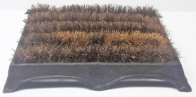 Vintage Style New Made Cast Iron Boot Scrapper Cleaner Shoe Brush Frame