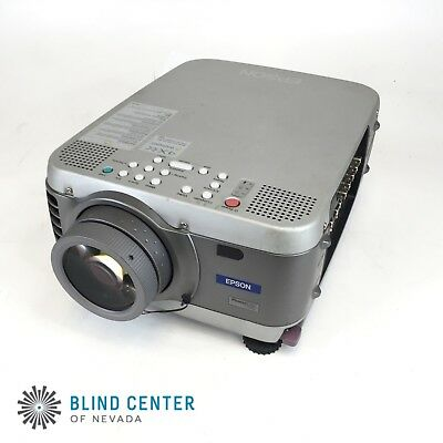 Epson PowerLite 7700P LCD Projector 1050 Lamp Hrs