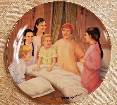"Julie Andrews ""My Favorite Things"" The Sound of Music Knowles collector plate"