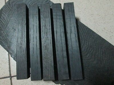 set of 5pcs Bog oak blanks for pen(20x20x135)(morta,wood) from 1000-6000year