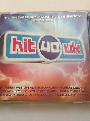 Various Artists - Hit 40 UK CD Album The Greatest Hits