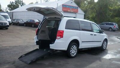 2015 Dodge Grand Caravan WHEELCHAIR VAN 2015 DODGE GRAND CARAVAN RAM AMT MODEL 96 WHEELCHAIR VAN HOLDS 2 WHEELCHAIRS!