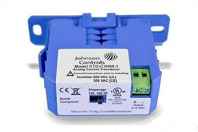 Johnson Controls Foot-Mounted 50A/100A/150A Split Current Transducer CTD-C3H00-1