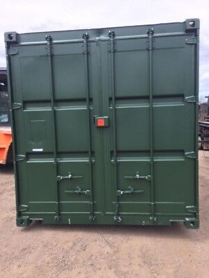 30 ft Long 8 ft Wide Green Grade a Steel Storage Container - Store