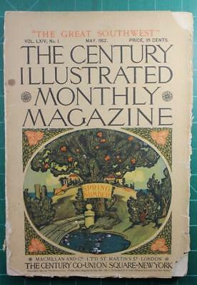 The Century Magazine May 1902 Maxfield Parrish Illustrations The Great Southwest