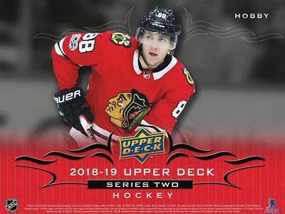 2018-19 Upper Deck Series 2 Complete Canvas Base Card Set, No POE's or YG Canvas