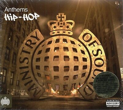 Anthems Hip-Hop (Ministry Of Sound) - Various Artists (CD 2011)