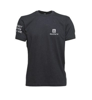 "Husqvarna T-Shirt ""Ready when you are"""