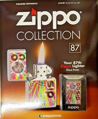 Deagostini = Zippo Lighter Collection = Issue 87 = Disco Fever