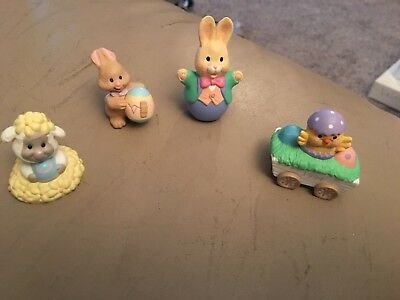 Hallmark ~ Merry Miniatures ~ Lot of 5 Easter Spring Mint