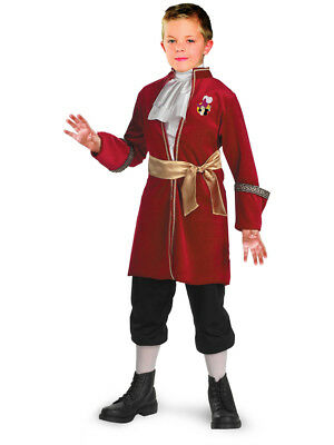 Child Official Disney Peter Pan Captain Hook Pirate Costume