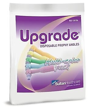 Sultan Upgrade® Disposable Prophy Angles Multi-Color Soft Cups, 1200/ea