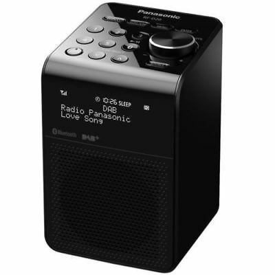 Panasonic Portable FM Radio DAB+ Bluetooth Splash Proof Speaker & Phone Charger