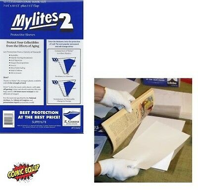 MicroChamber Bronze 100 Sheets & 50 E. Gerber Standard Size Mylite Archives