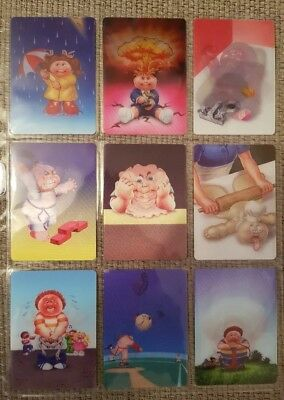 Garbage Pail Kids US 2012 BNS 1 Complete Loco Motion 3D 10 Card Set