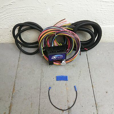 Wire Harness Fuse Block Upgrade Kit for Late wiring kits, electrical components, auto performance parts