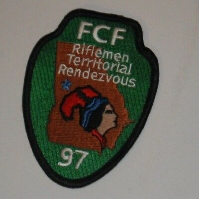 FCF Riflemen Territorial Rendezvous 97 Patch