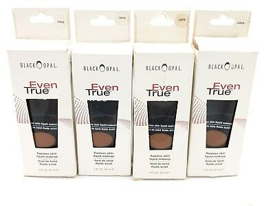 Black Opal EVEN TRUE Flawless Skin Liquid Makeup - CAROB - 1 FL OZ (4X)