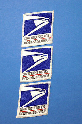 Post Office Patch 3 patches Letter Carrier Mailman Postal Service Eagle Emblem