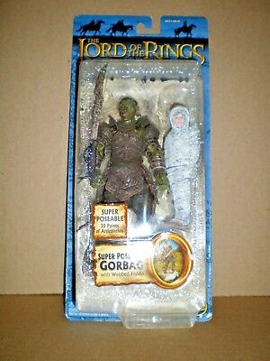 ToyBiz LOTR Gorbag with Webbed Frodo Action Figur