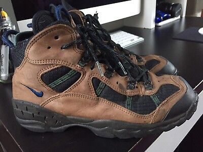 a6c5fa86b6fa6 Vintage Nike Acg Hiking Boots Men's 9.5 Brown Black All Conditions Gear  Trail